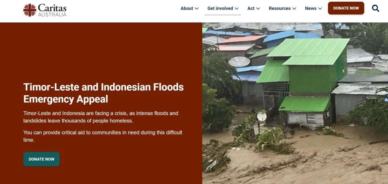 Timor-Leste and Indonesian Floods Emergency Appeal