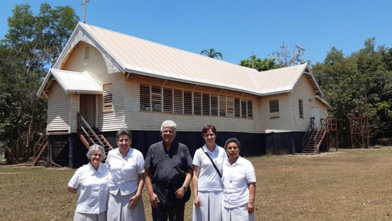 Welcome our three new Canossian sisters, Ministering in the Tiwi Islands