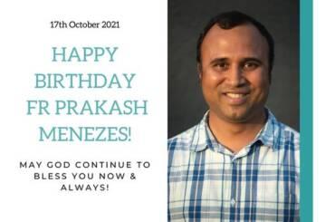 Fr Prakash Menezes Birthday