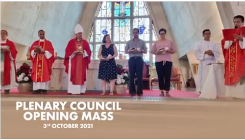 Darwin Memorial Uniting Church pledges prayers & support for the Plenary Council.